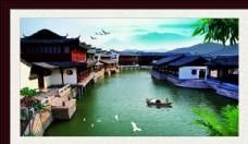 小桥流水人家   江南风景图片
