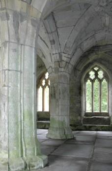 欧式古典教堂建筑物图片