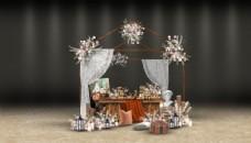 甜品区效果图图片