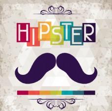 hipster 胡子图片