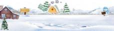 大雪天图片