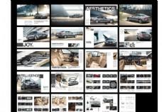 汽车租赁画册图片