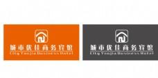 宾馆商标设计图片