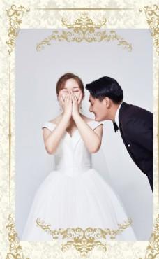 婚礼迎宾图片