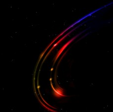 炫光线条图片