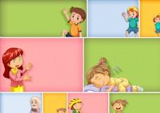 卡通兒童圖片