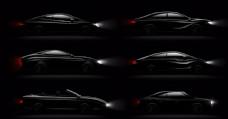 时尚黑色轿车图片