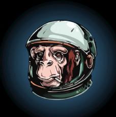太空猩猩图片