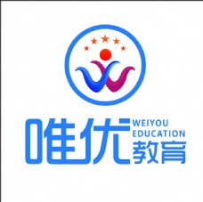 唯优教育logo图片