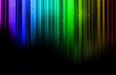 炫彩光线背景图片