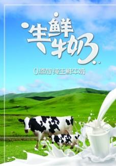 生鲜牛奶图片