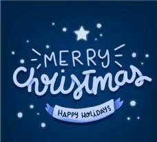 圣诞快乐艺术字图片