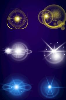 科技光线光晕光圈图片