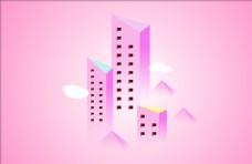 粉粉嫩嫩的小房子图片