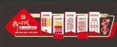 新时代文明实践站文化墙图片