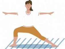 瑜伽动作图片