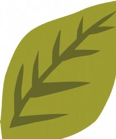 手繪綠植圖片