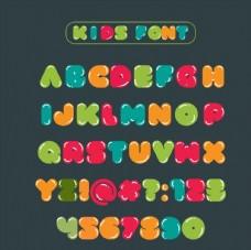 儿童英文字母图片