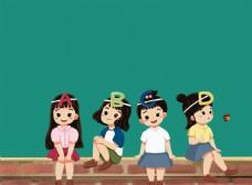 卡通英语动画学习图片