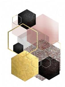 抽象菱形图片