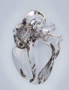 潮流科技感玻璃心脏素材图片