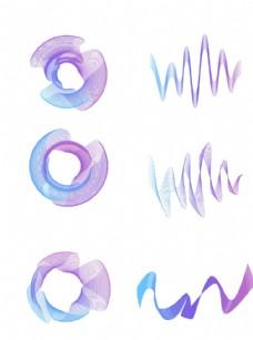 科技感线条元素图片