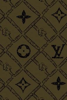 大牌字母数码印花高清图片