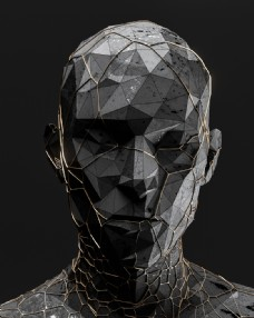 抽象艺术人物图片