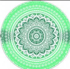 圆环印花图片