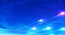 蓝色背景蓝色科技背景图片