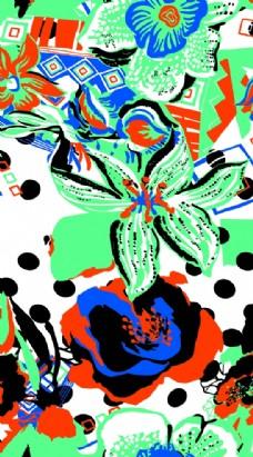 矢量几何花卉图片