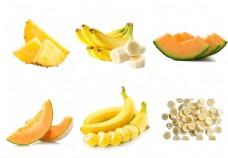切开的水果素材图片