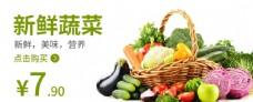 蔬菜新鲜蔬菜食品海报图片