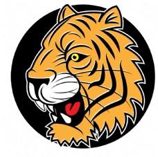老虎图标标志图片