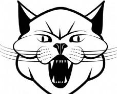 老虎脸图片