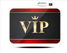 vip名片质感图标PSD素材图片