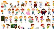 矢量儿童素材图片