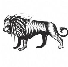 老虎矢量图图片