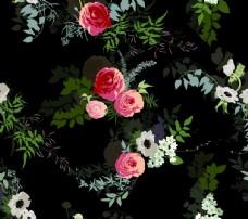 手绘水彩花图片