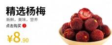 杨梅杨梅海报水果海报图片