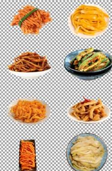 自制腌咸菜萝卜条图片