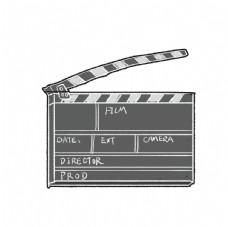 电影装饰板图片