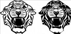老虎标志图片