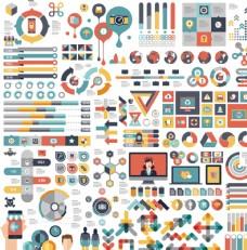矢量信息图形集和设计元素图片
