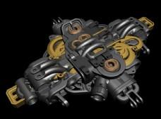 五金机械建材配件轴承图片