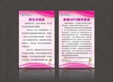 HPV预防展板图片