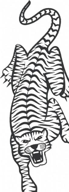 卡通老虎图片
