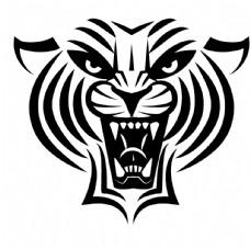 凶猛老虎图片
