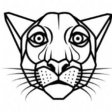手绘老虎图片