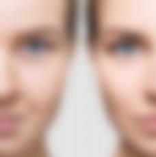 高清美女年龄对比脸图片